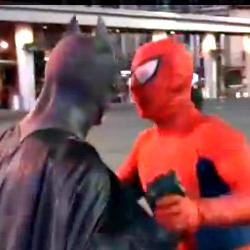 Spider Man vs Batman Toronto 2012