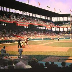 Sportsman Park in St. Louis Early 1960s